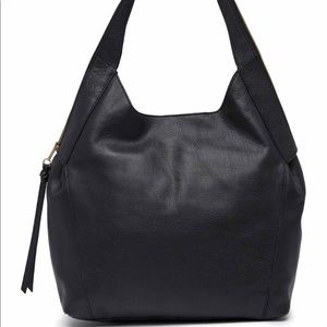 Kooba Oakland Tobo black leather hobo shoulder bag